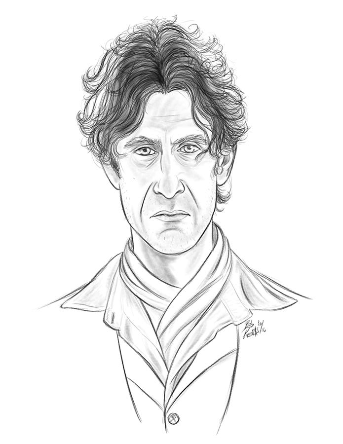8th Doctor by AnimalQwacker