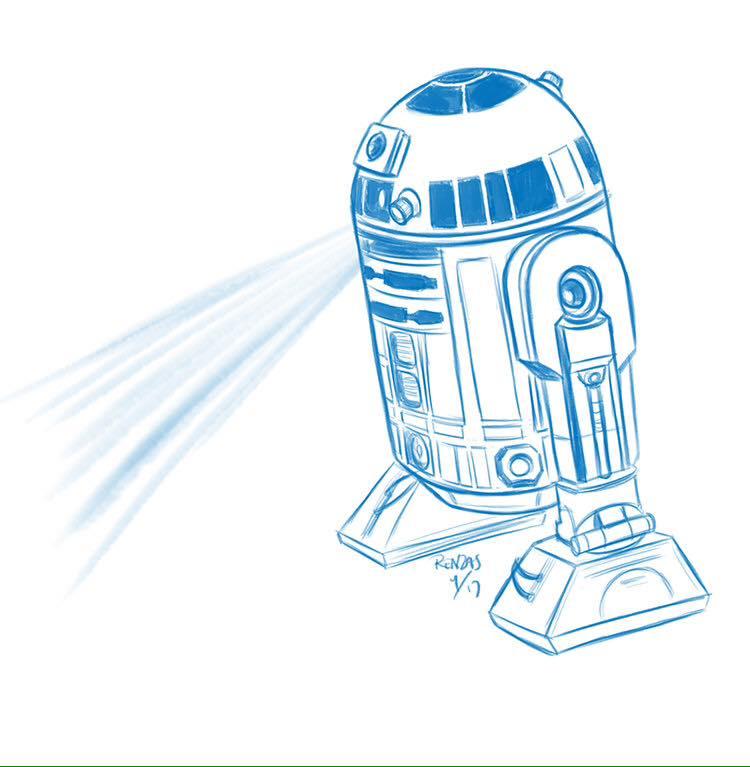R2 - D2 by AnimalQwacker