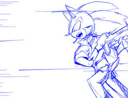Charge!!!!!! (Sketch) by oLEEDUEOLo