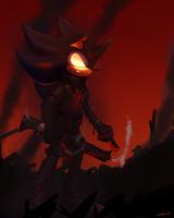 Dark Sonic by oLEEDUEOLo