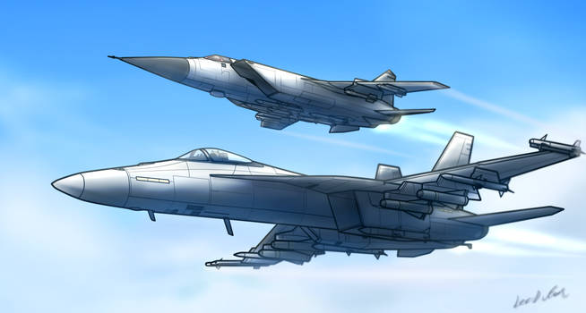 Foxhound and Hornet