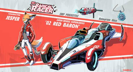 Radical Racer - JESPER '02 RED BARON'