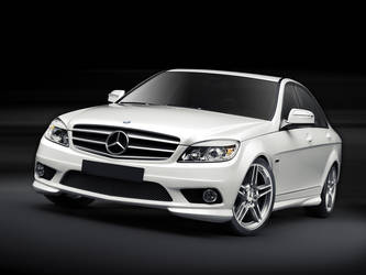 Mercedes C-class_Front by Sesim