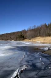 Stock - Frozen Lake