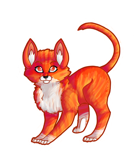Warriors Into The Wild Setting: FireHeart By IvyCurse On DeviantArt