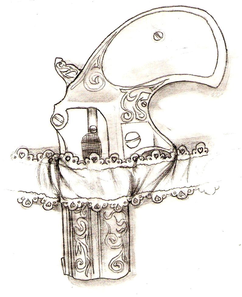 Garder Belt Gun Holster by MasterHoff on DeviantArt