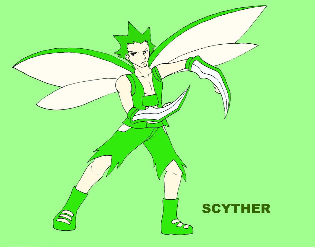 Scyther cosplay by saasmiaona on deviantart - Scyther wallpaper ...