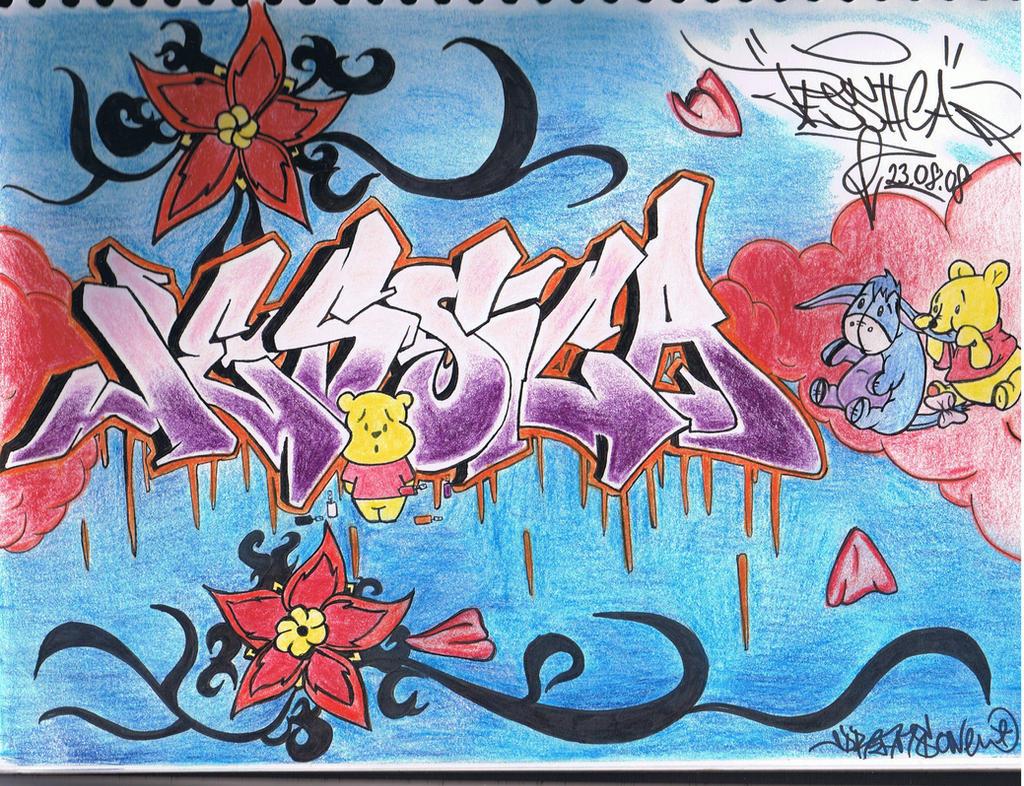 graffiti jessica by icebabiizx graffiti jessica by icebabiizx