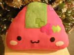 Christmas Onigiri Pillow