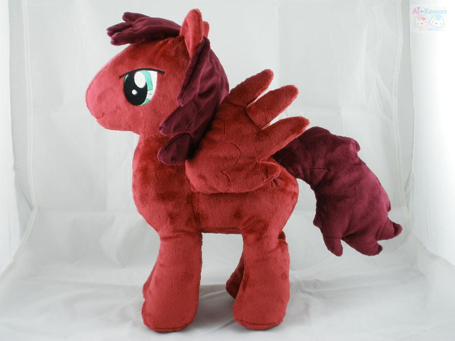 Crimson Dawn Pony Commission by LiLMoon