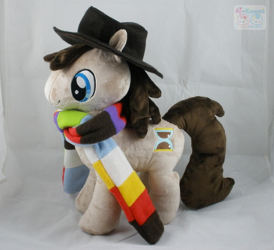 MLP: FiM 4th Doctor Pony Plushie