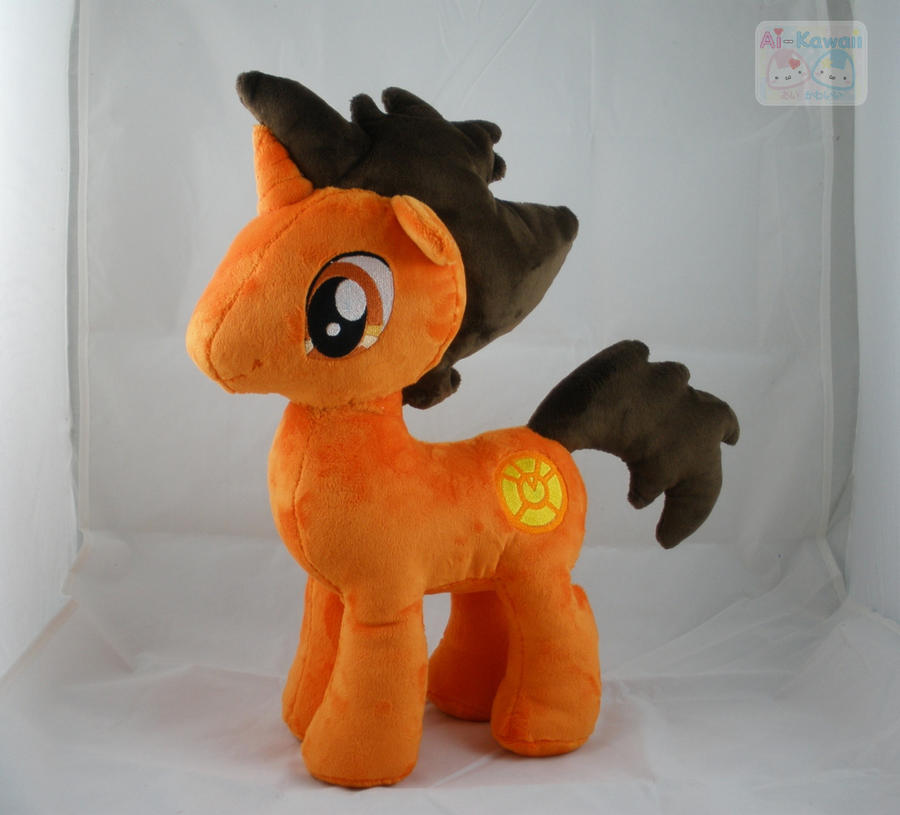 OC Topaz Blaze Plushie by LiLMoon