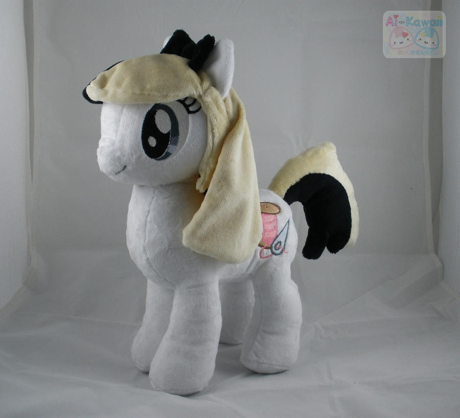 OC KidaArcher Ponified Plushie by LiLMoon