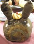 Chocolate Roll Cake Bunny Plush