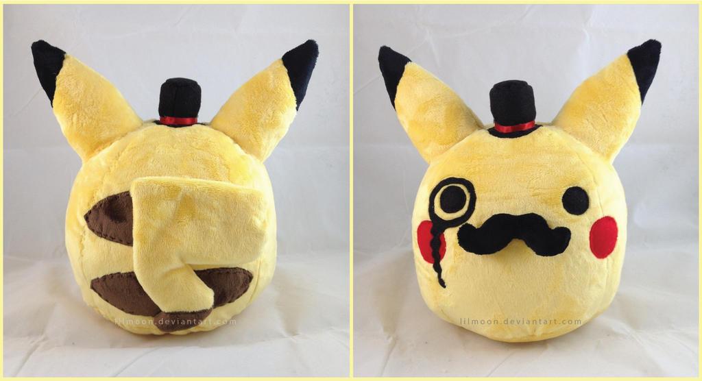 Fancy Pikachu Plush by LiLMoon