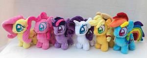 Mane 6 Mini Ponies
