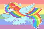 Rainbow Dash (Happy Pride Month!)