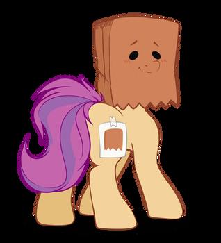Paper Bag Pony