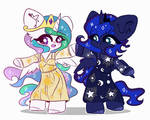 Celestia and Luna by etozhexleb