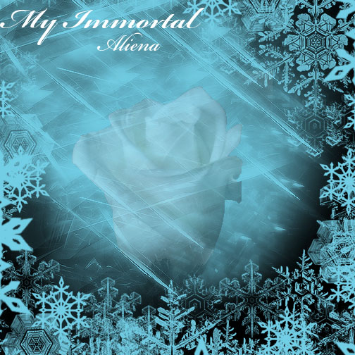 My Immortal CD Cover by Tigerruby