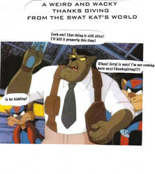 HAPPY SWAT KATS THANKSGIVING by ulyferal