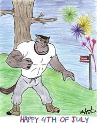 Happy Fourth of July by ulyferal