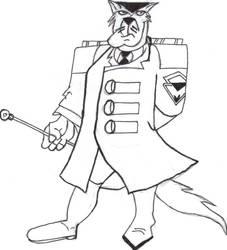 SWAT Kats: My 1st Feral Sketch by ulyferal