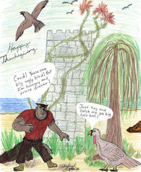 SK: Happy Thanksgiving 2010 by ulyferal