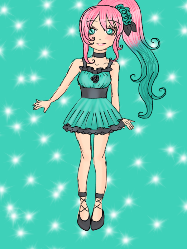 +Free!+ Idol Outfit by Sweet-Blueberry