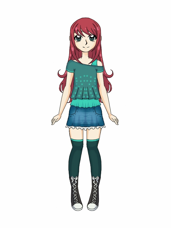 +GPPC+ Aki's Casual Clothes by Sweet-Blueberry