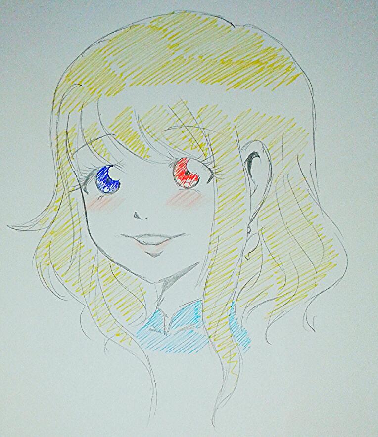 +CA+ Ahiru-chan Lineart by Sweet-Blueberry