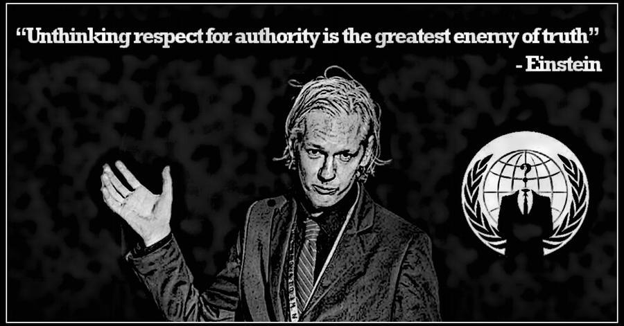 Julian Assange by JackZeitgeist