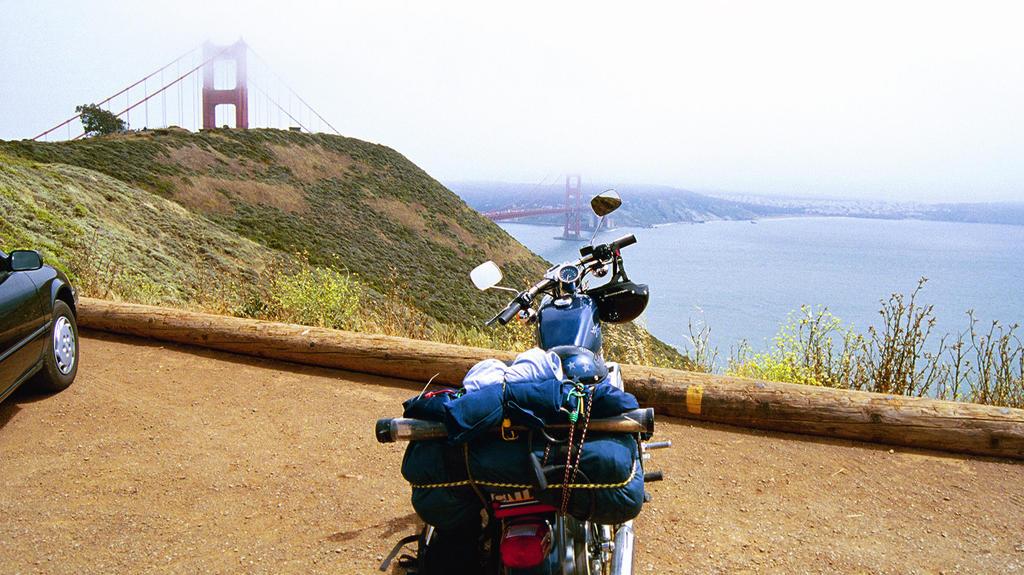 Golden Gate Bridge Summer of 2000 by acurmudgeon