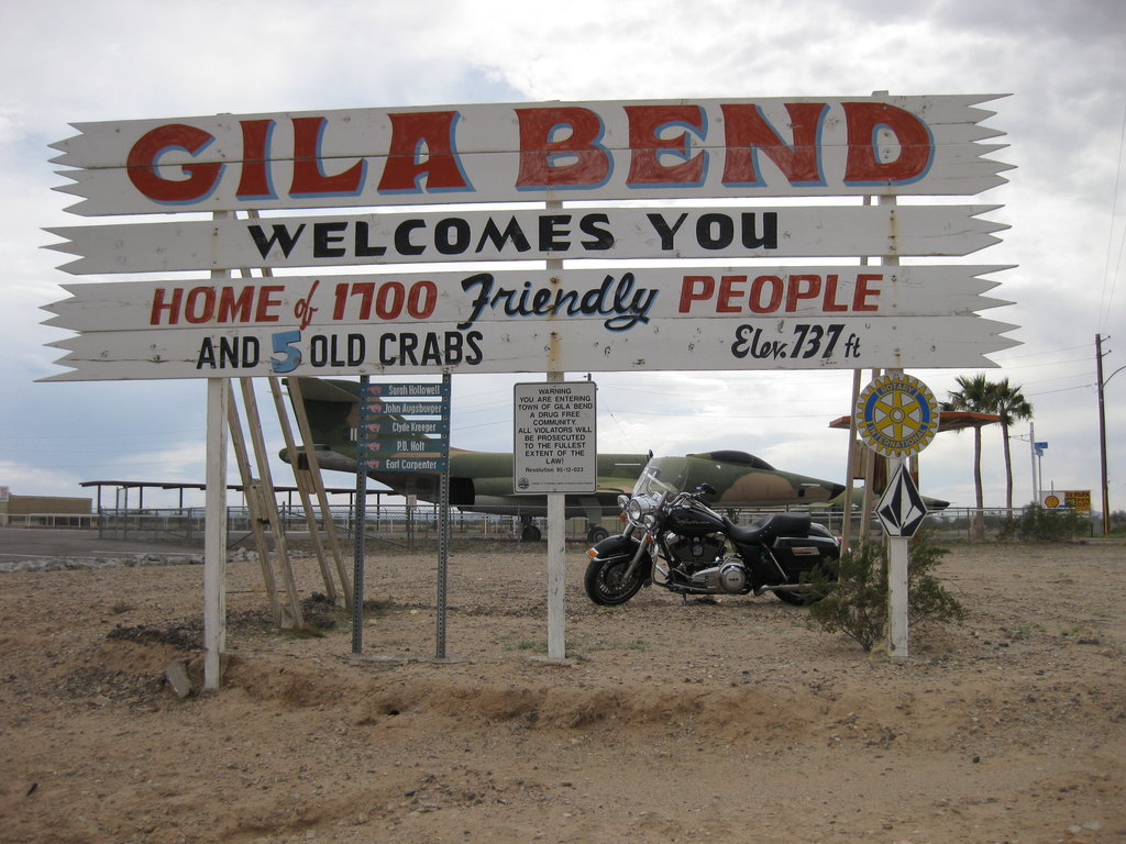Gila Bend Airport by acurmudgeon