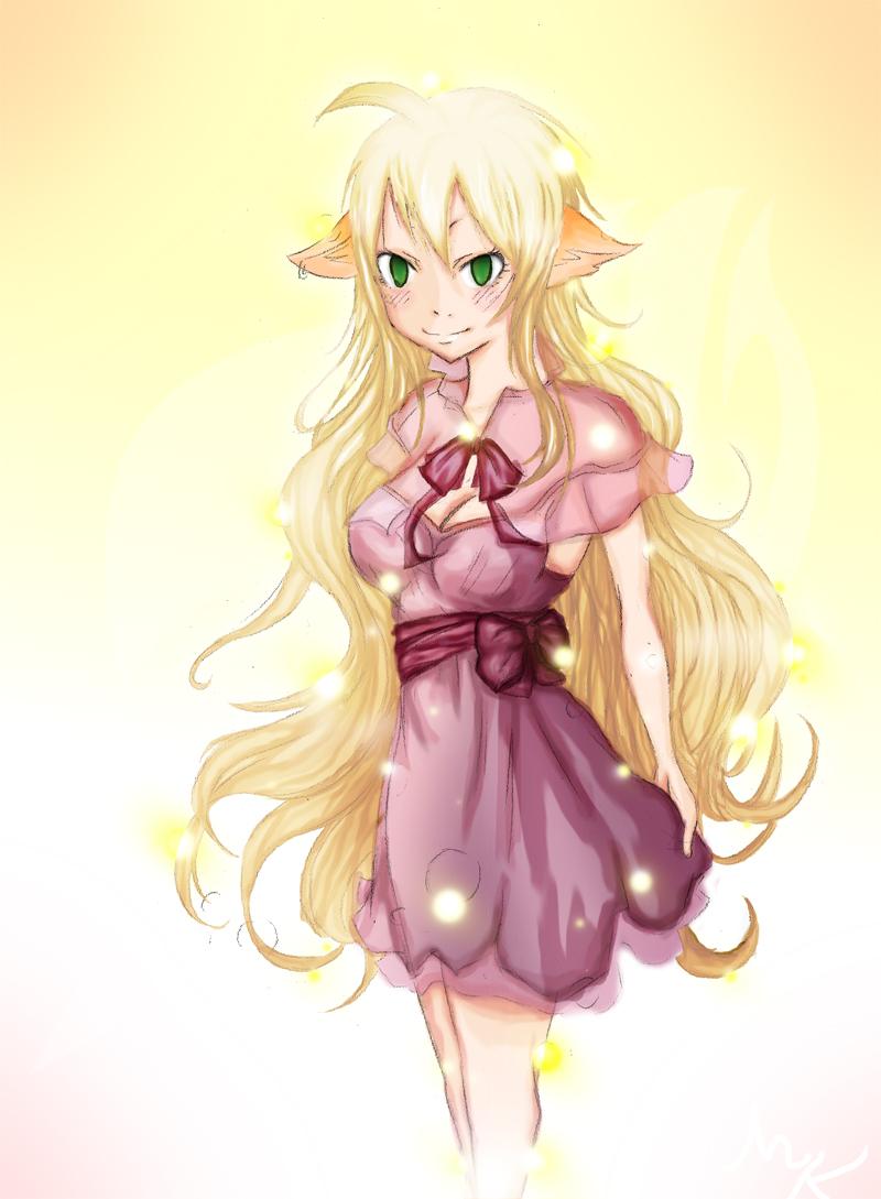 Fairy Tail Adult Mavis...