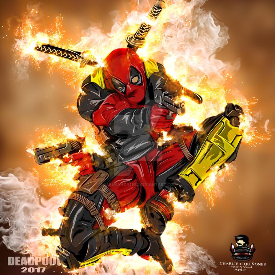 Deadpool 2017 by Barukanon1992