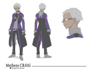 Metheos CRAIG by Kaisum-chan