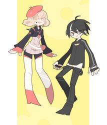 Von and Cherry by Kaisum-chan