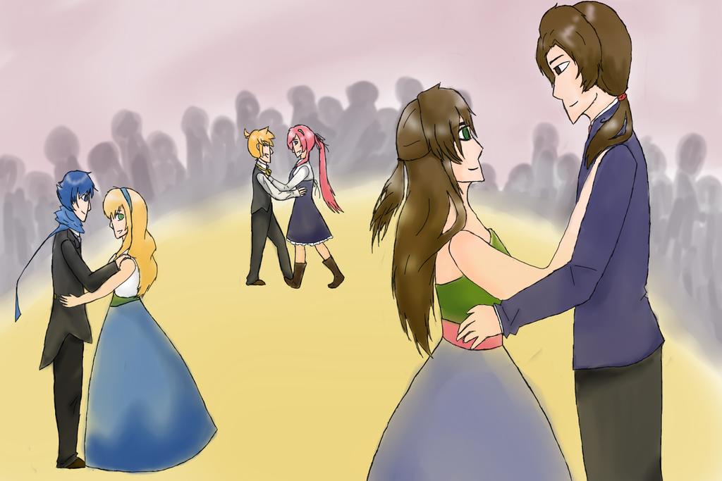 Chianna Contest Entry - A Ballroom Dance by Tsuki-Hana05