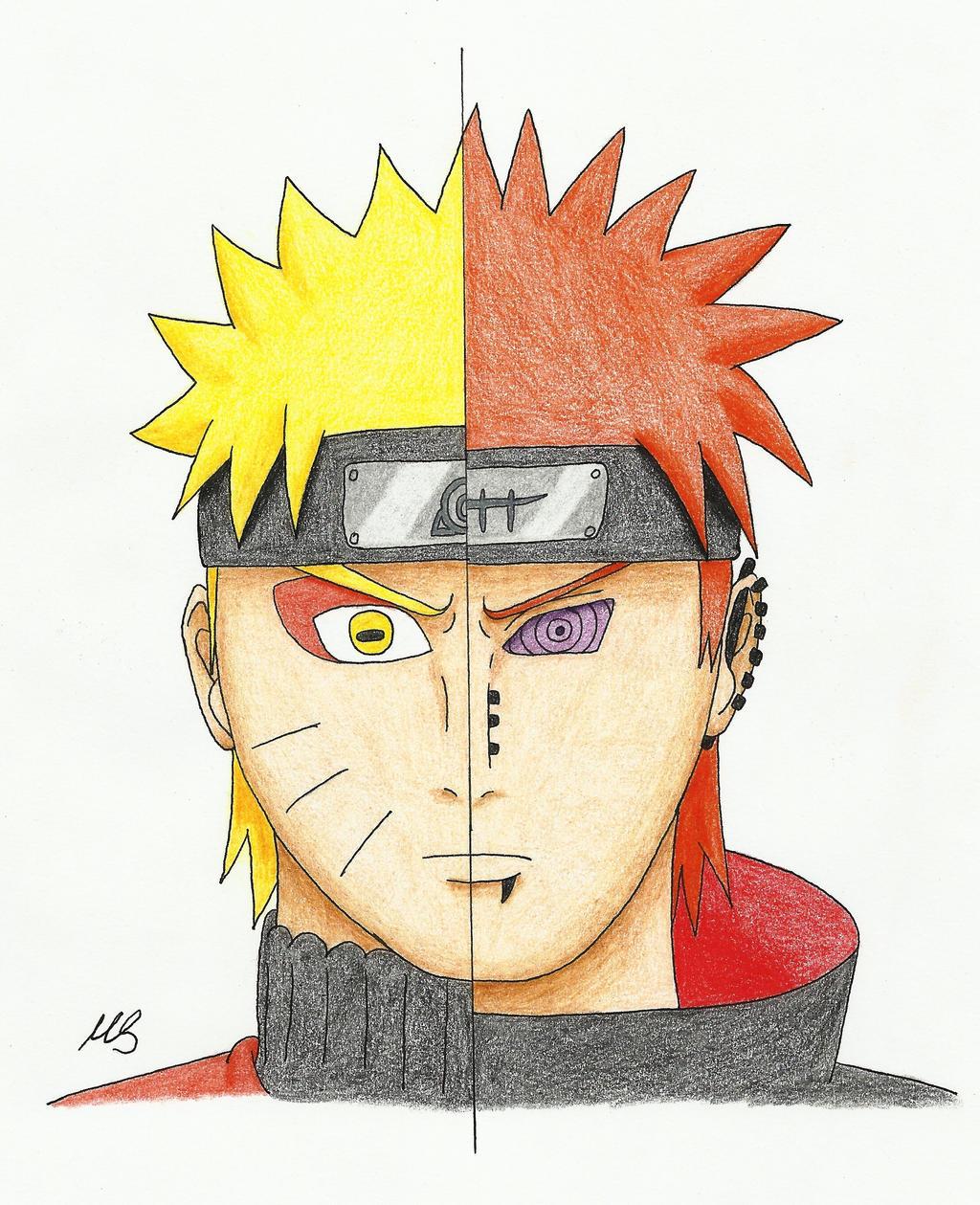 Drawing-Challenge Day 2 Naruto-Pain By MSJPSakura On