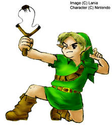 Link and Fairy Slingshot color