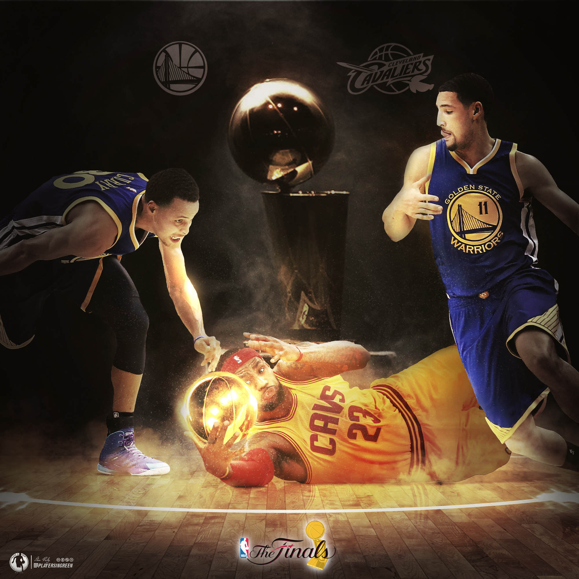 Cleveland Cavaliers Vs Golden State Warriors By