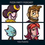 Pizza Party Podcast Demon Days (tinted)