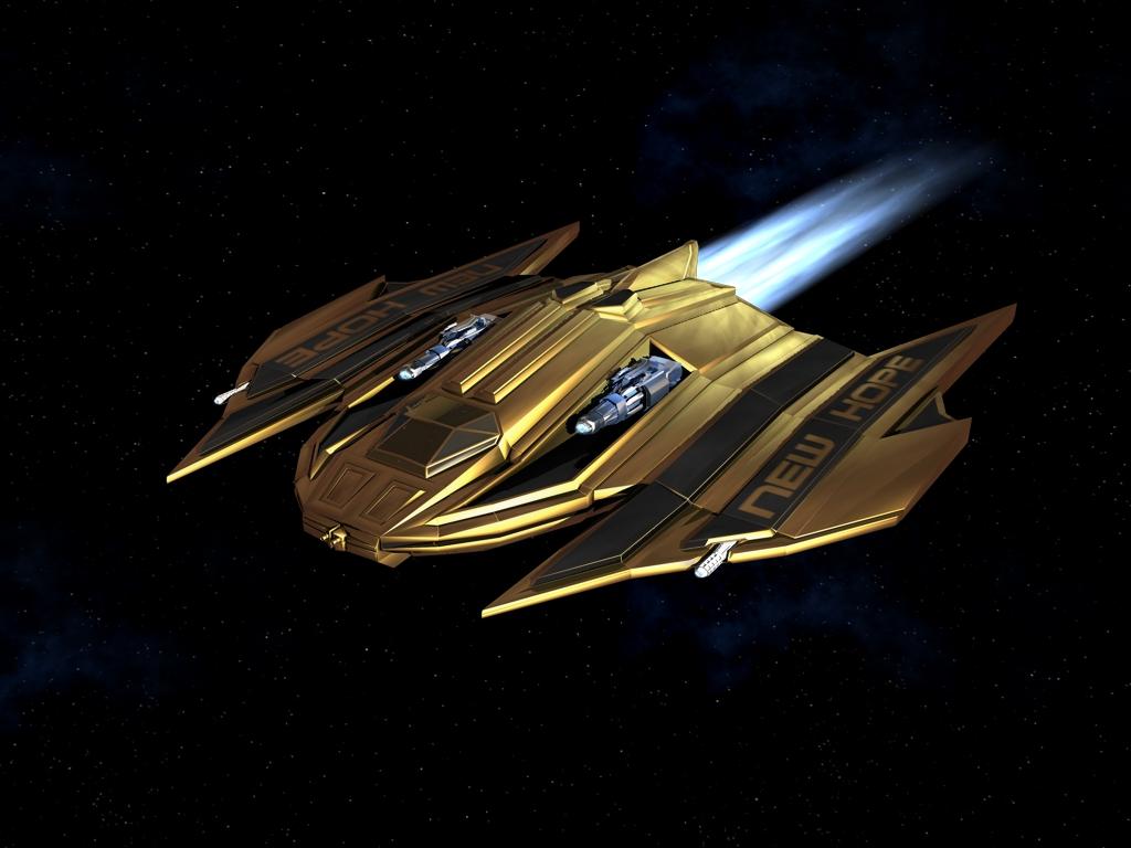 Battleaxe Patrol Ship by CommiM