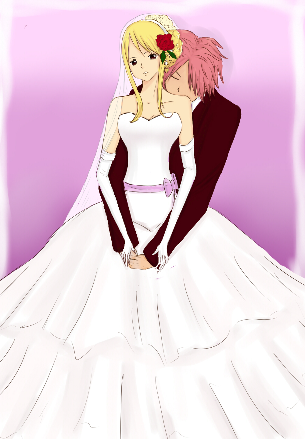 Fairy Tail Natsu And Lucy Married | www.imgkid.com - The ...