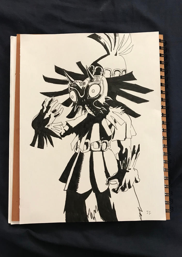 Majors mask inktober  by J00KIN