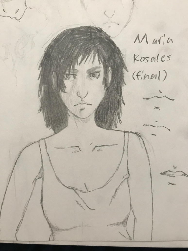 Maria Rosales  by J00KIN