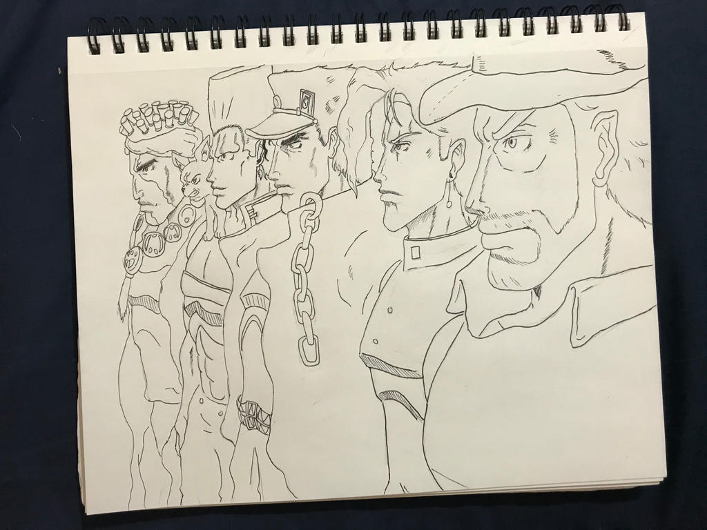 The Stardust Crusaders  by J00KIN