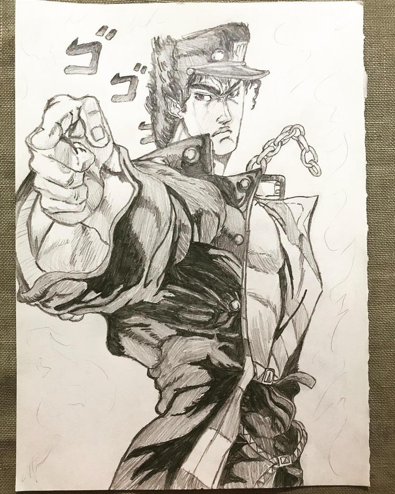 Jotaro Kujo by J00KIN