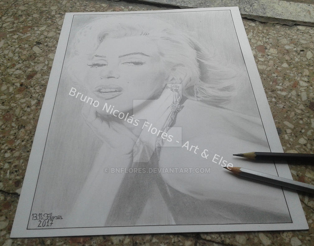 Marilyn Monroe by BNFlores